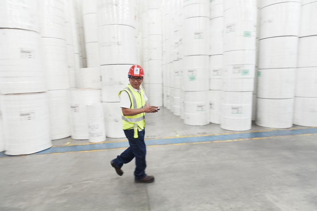 Working in factory Mexico